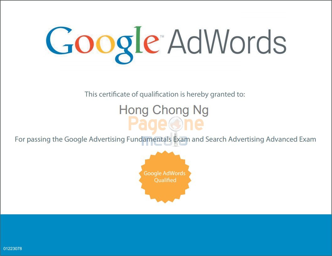 Our Seo Google Adwords Analytics Certifications Visit Us